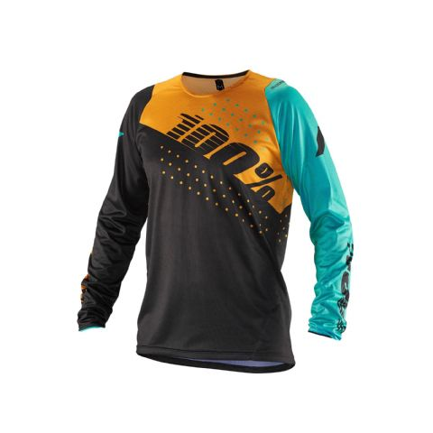 100% R-Core Jersey Charcoal